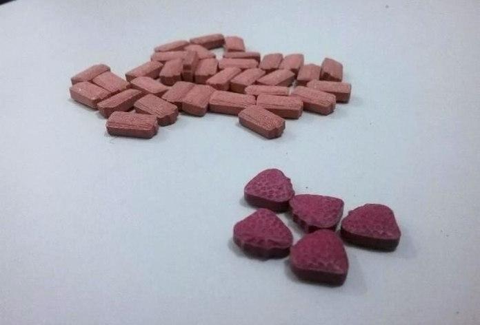 38 comprimidos de ecstasy