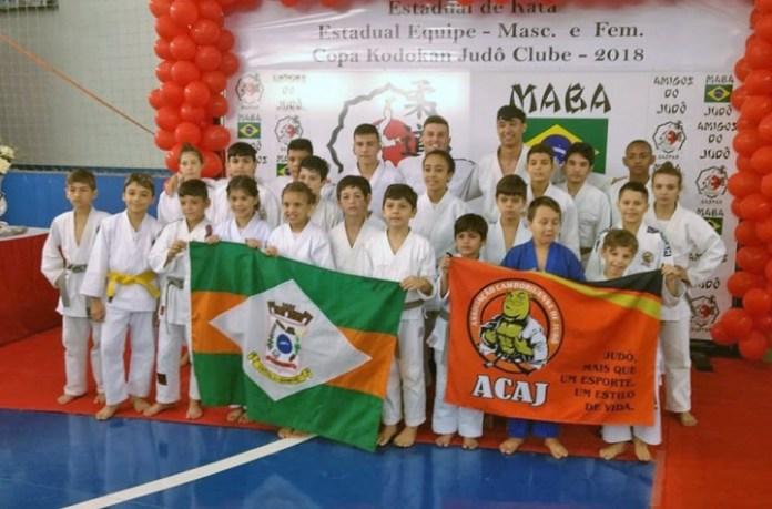Judocas de Camboriú garantem 8 medalhas em Copa Gaspar de Judô