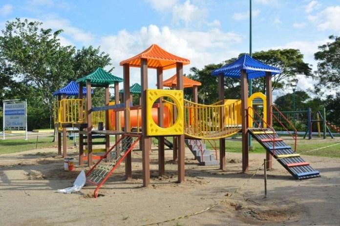 Município de Itajaí investe na revitalização de áreas públicas de recreação infantil