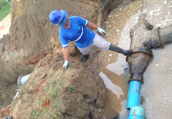 Reforço de água EMASA 3