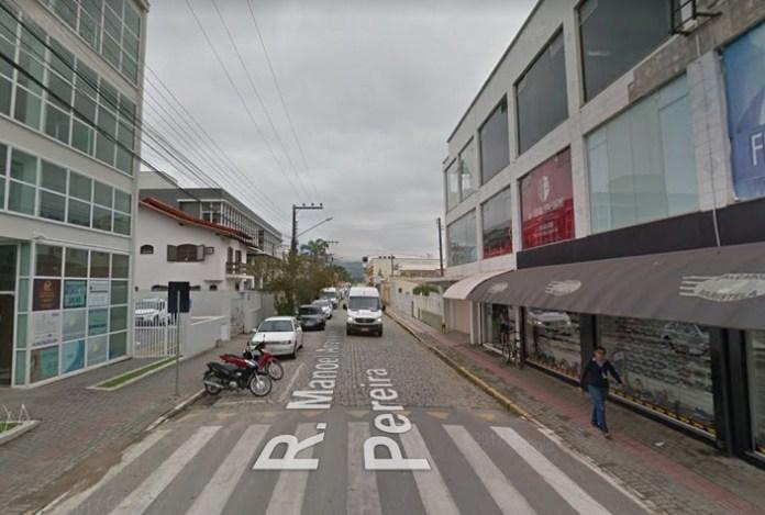 Rua Manoel Anastácio Pereira