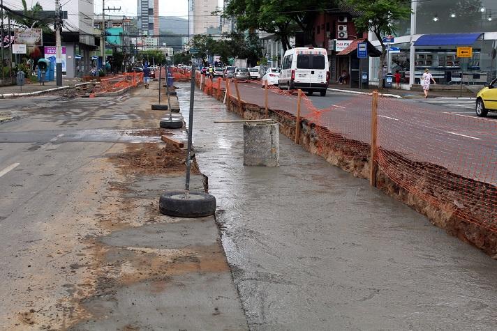 Trecho da Terceira Avenida interditado nesta quinta feira para requalificação