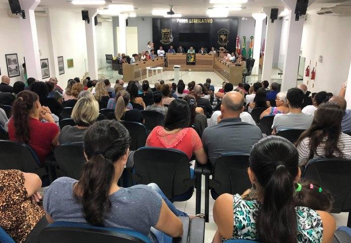 Audiência Pública sobre o transporte público de Camboriú