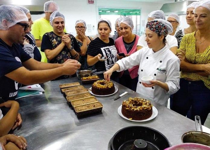 Curso livre de cucas e bolos caseiros