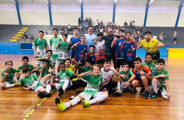 Futsal Sub 12 do Almirante Barroso