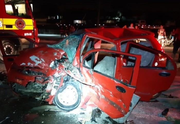 Motorista embriagado causa acidente com duas mortes na BR 470 neste domingo