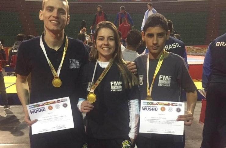 Lutadores de BC conquistam o ouro no 8° Campeonato Sul Americano de Kung Fu na Bolívia