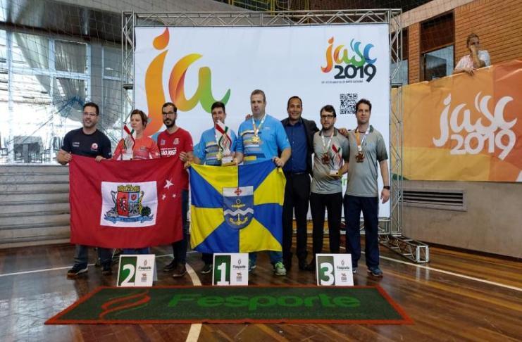 Itajaí garante mais quatro troféus nos Jogos Abertos de Santa Catarina