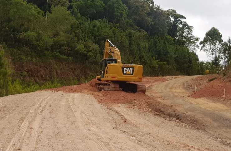 Obras da Avenida Panorâmica seguem dentro do prazo previsto