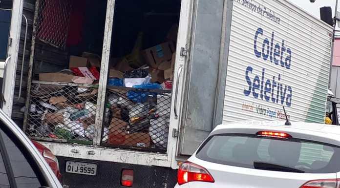 coleta lixo ambiental
