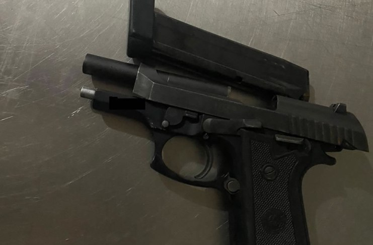 pistola 380 e carregador