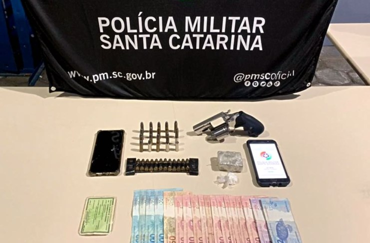arma municoes e drogas