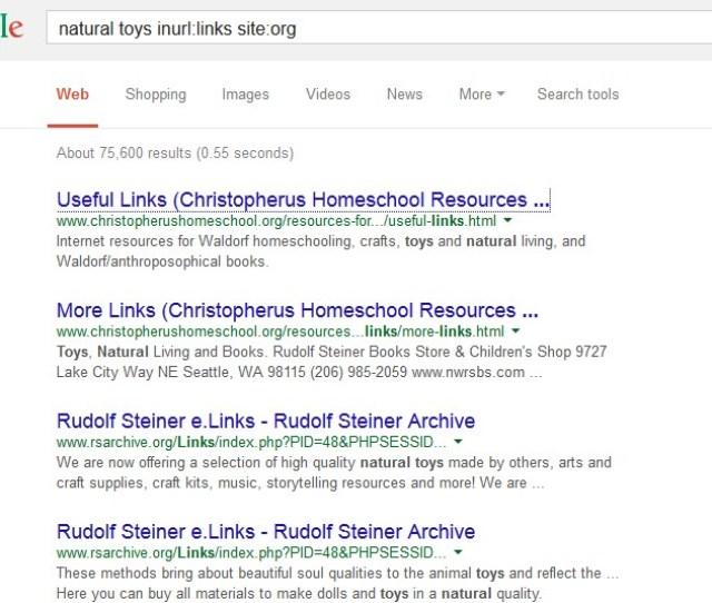 Google Advanced Search Operators Outreach