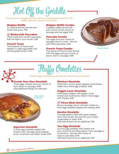 Mom's Diner menu-3