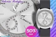 Lindo Relógio Feminino LINCE by ORIENT com Strass, com 50% de Desconto!! De R$99,90 por R$49,90!!! Promoção Imperdível!!!