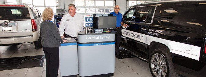 Why Service Here    Everett Chevrolet Buick GMC   Hickory Dealership Everett Chevrolet Buick GMC Service
