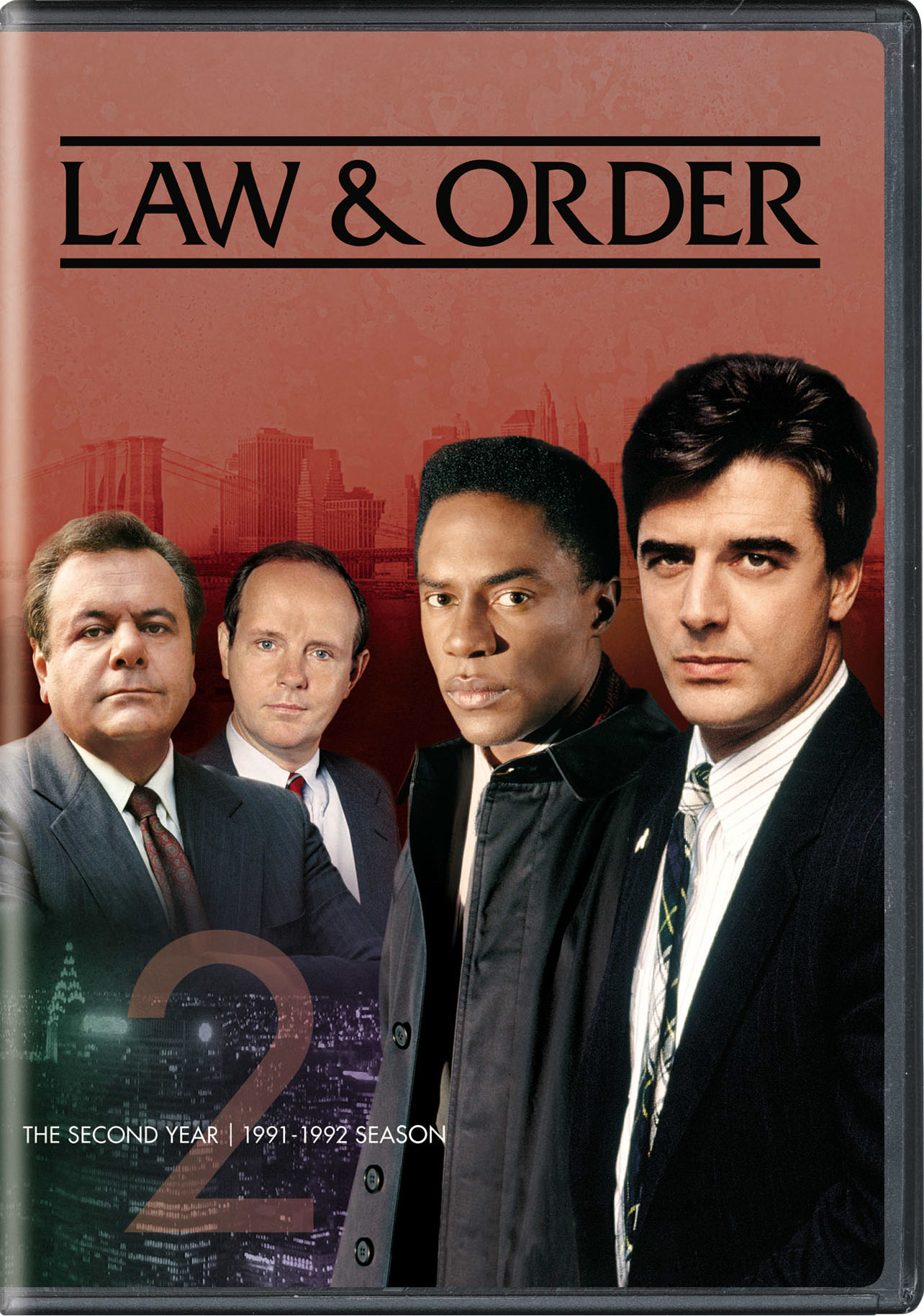 Law Amp Order The Second Year Dvd