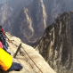 Hua Shan Cliffiside Plank Walk in China