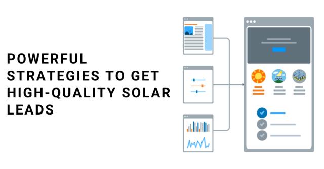 Des stratégies puissantes pour obtenir des pistes solaires de haute qualité