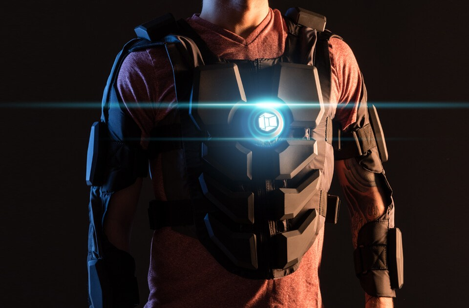 VR suit hardlight