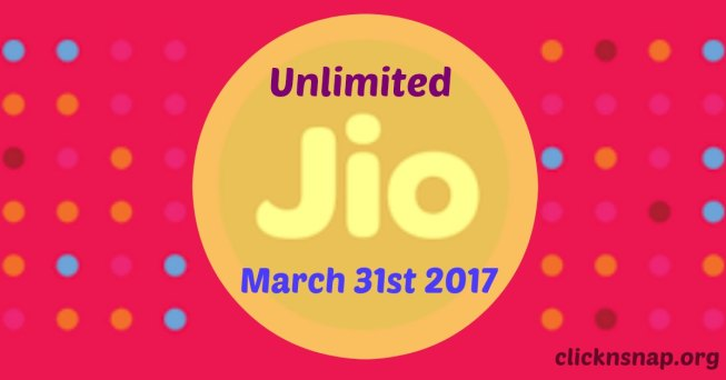 Jio Happy New Year Offer: Free Data, Calls And Apps Till March 31