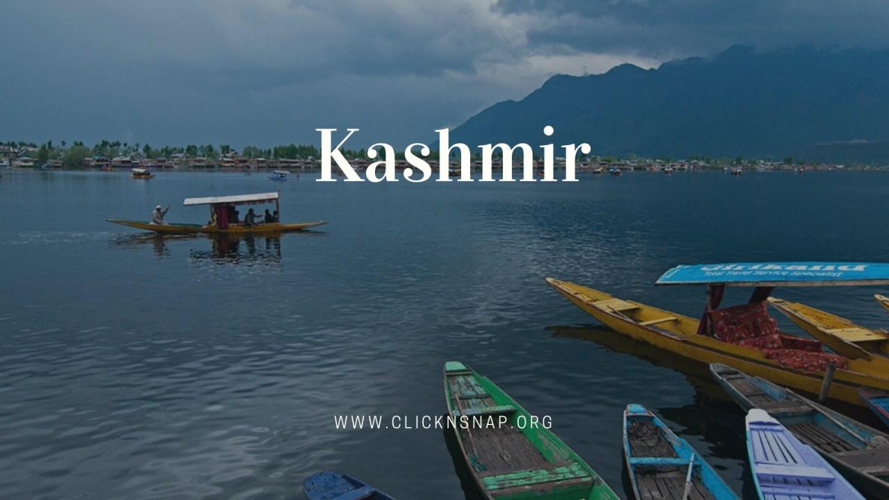 Kashmir, Summer Holiday, India