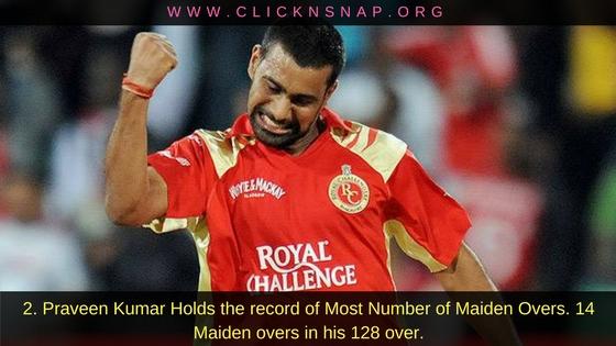 Praveen Kumar, 10 IPL facts , IPL , IPL 2017 , IPL Facts