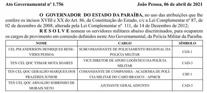 whatsapp_image_2021-04-07_at_065432_2 Coronel da Polícia Militar citado na Operação Calvário é exonerado da chefia da Casa Militar do Governador