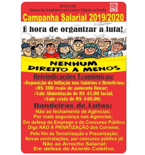 greve correios 09 2019 - Trabalhadores dos Correios fazem greve a partir desta quarta-feira