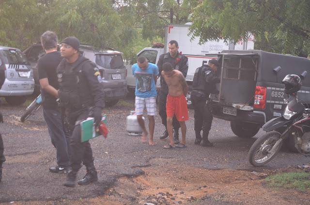 operacao   cajazeiras 2 - Operação cumpre 16 mandados de busca e apreensão e prisão contra crimes no Sertão do Estado