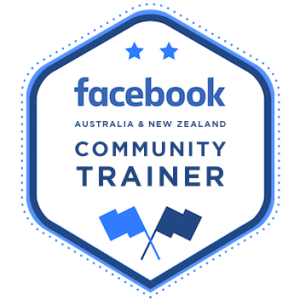 Clickstarter is one of just 6 accredited Facebook Community Trainers in Australia