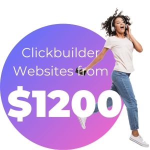 Clickbuilder Websites from $1200