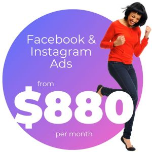 Facebook & Instagram Ads from $880 per month