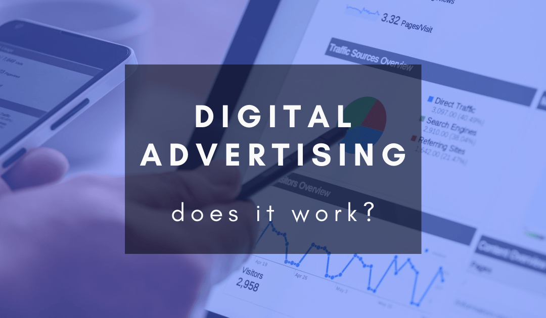 Does digital advertising actually work?