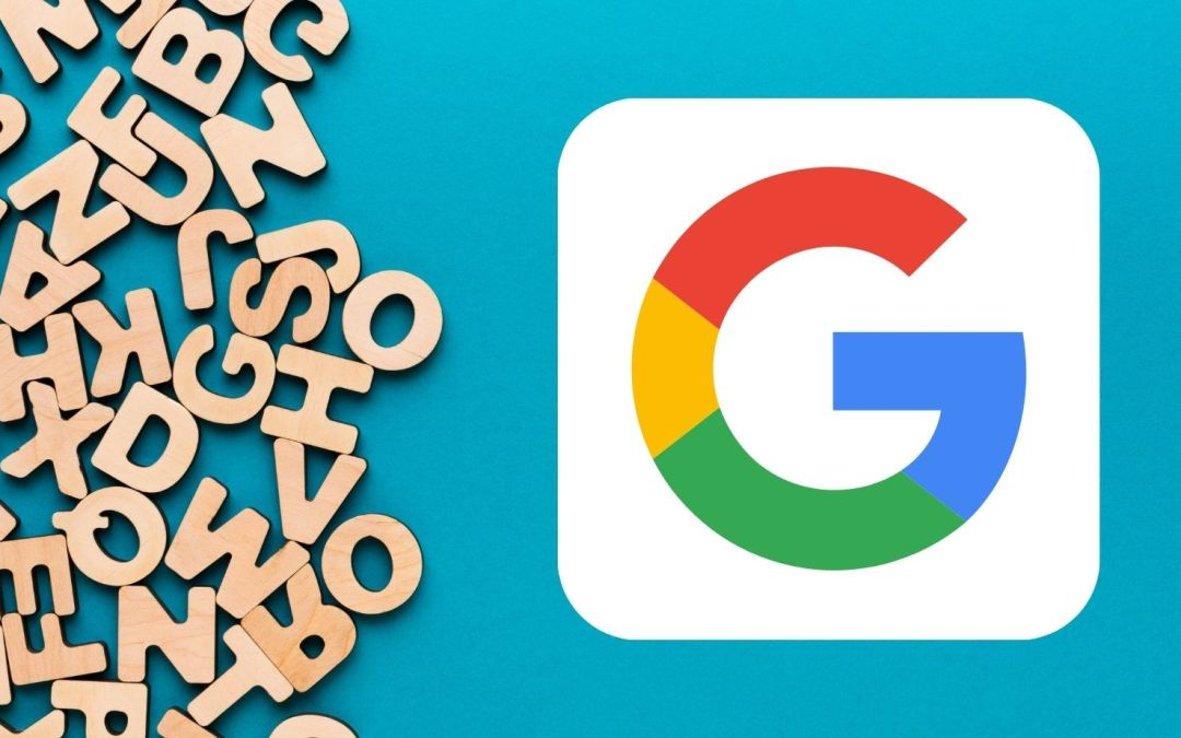 Image of Google Logo with letters