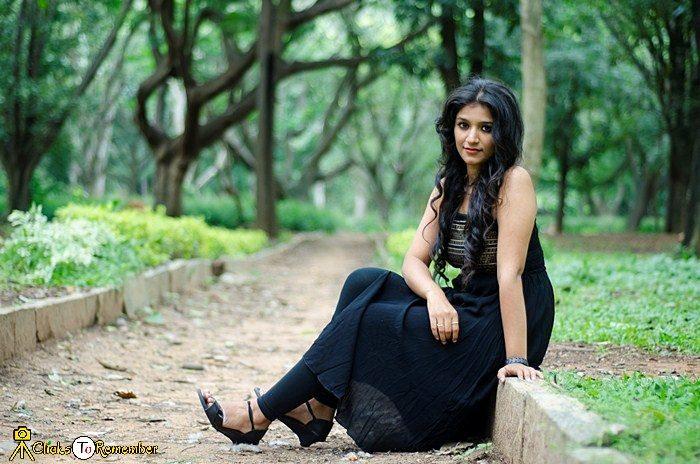 Model Photoshoot at Cubbon Park, Bangalore.