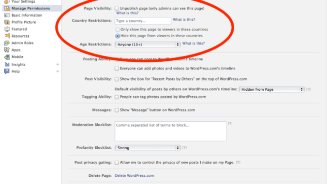 wordpress-com-facebook-page-permissions