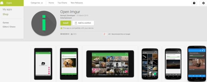 Download Open Imgur App