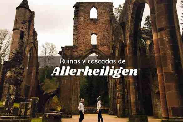 Cascada y Ruinas del Monasterio de Allerheiligen Selva Negra Alemania ClickTrip
