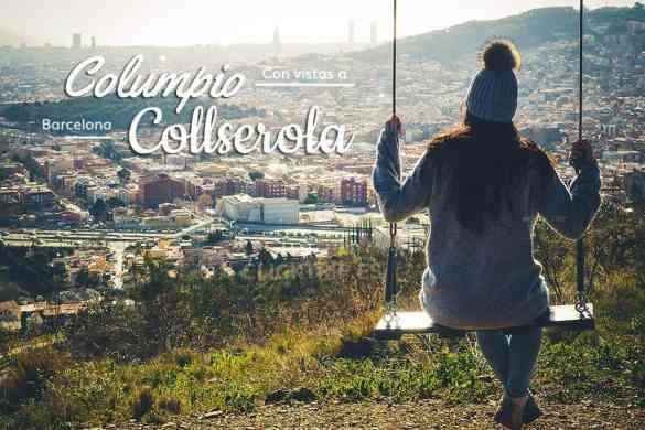 Columpio-de-collserola-con-vistas-a-barcelona-mirador-mundet-como-llegar-clicktrip