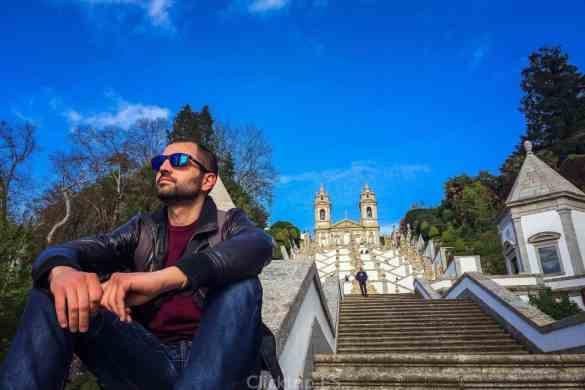Que ver en Braga en un día - Viajar a Portugal - Visita Braga desde Oporto - Santuario de Bom Jesus do Monte