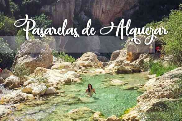 Ruta_Excursión_Pasarelas_de_Alquézar_Río_Vero_Aragón_Huesca_ClickTrip