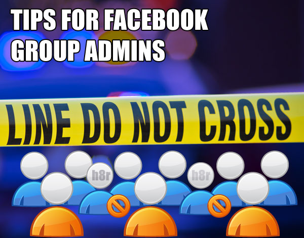 facebook group admin tips
