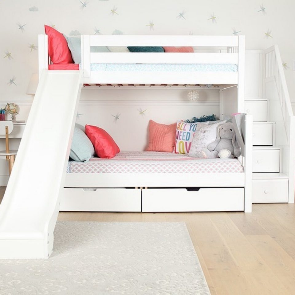 bunk beds slide beds girls or boys
