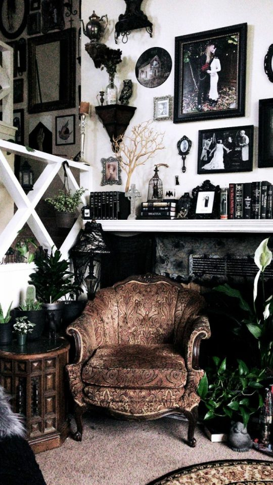 diy goth room decoration