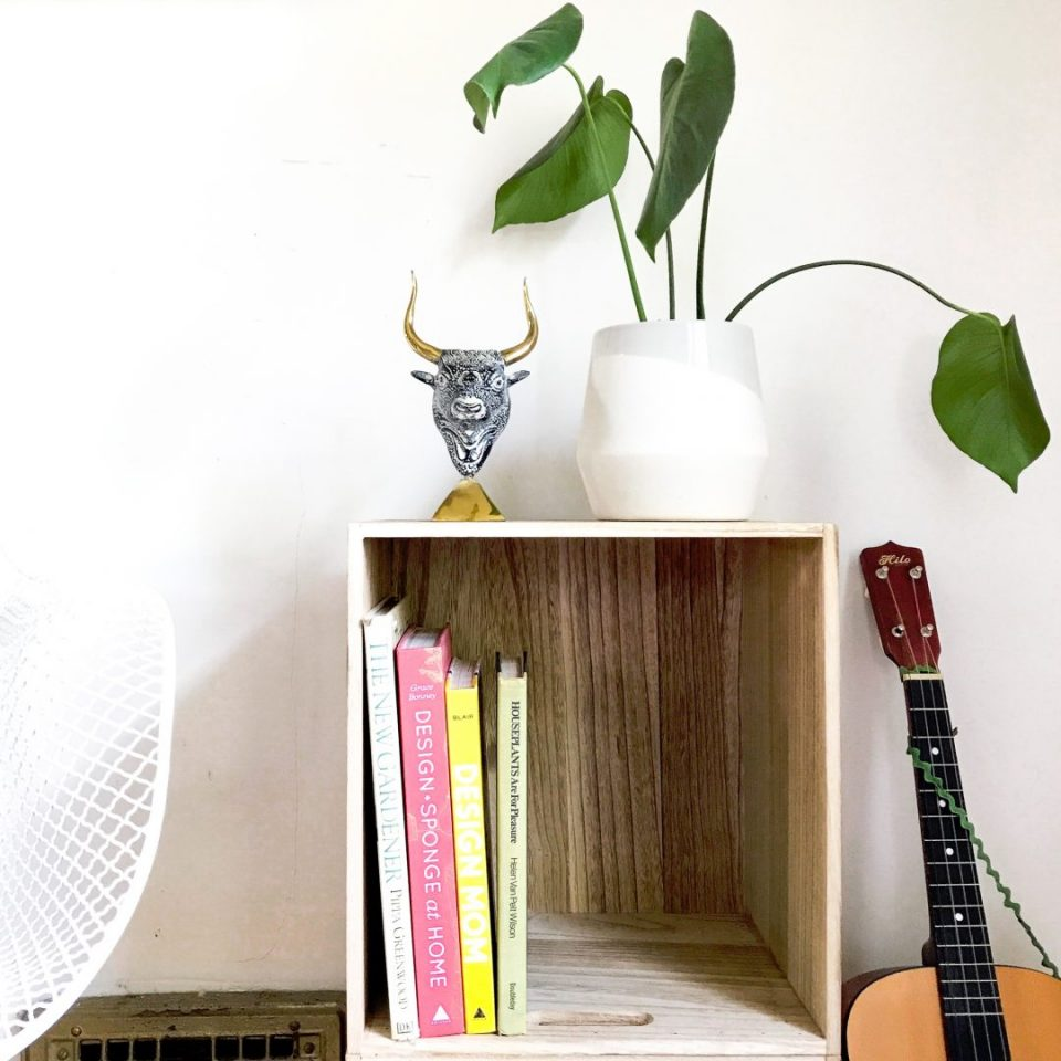 Diy Mini Wood Bookshelf