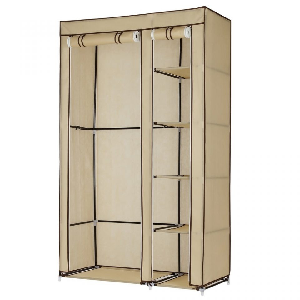 fabric portable wardrobe closet