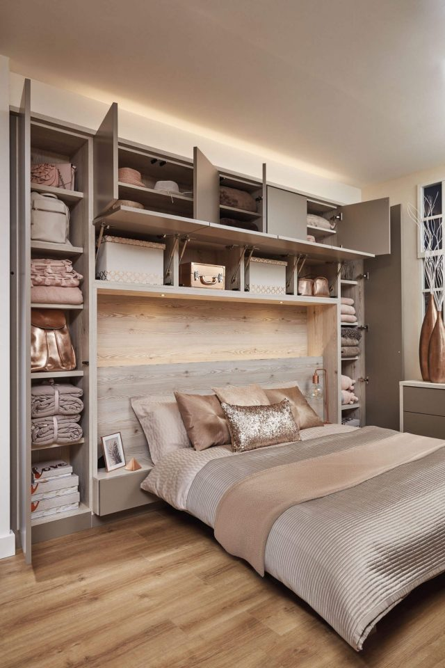 fitted bedroom furniture bed storage