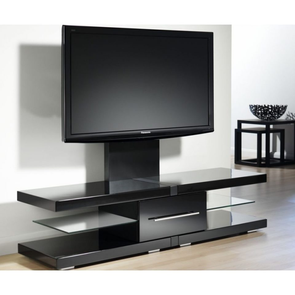 flat screen tv stands with mount rack