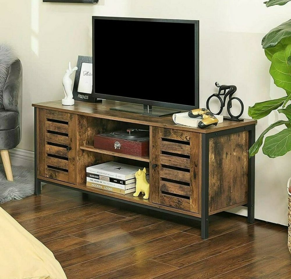 industrial style tv unit stand